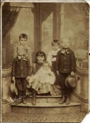Family History Photo of the Week Winner (14 August 2015): The Linn Children of Hagerstown