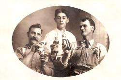 Family History Photo of the Week Winner (13 November 2015): Peter Nicholas Triesch (center) with his two brothers Peter and Simon