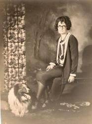 Family History Photo of the Week Winner (9 September 2016): Maude with her dog