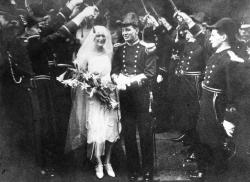 Family History Photo of the Week Winner (12 February 2016): Wedding of Richard and Winifred Jessel