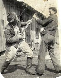 Family History Photo of the Week (31 Jan 2014) ~ Crews-Posey Gun Play
