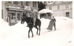 Family History Photo of the Week Winner (14 February 2014) ~ Skiing in Switzerland 1931