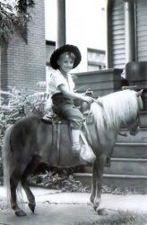 Family History Photo of the Week Winner (28 Mar 2014) ~ Pony Ride  (Friday's Faces From the Past)