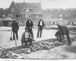 Family History Photo of the Week (11/8/13) ~ Road Workers of Amsterdam