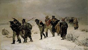 Napoleon's Retreat From Moscow (Image Credit: Wikipedia)
