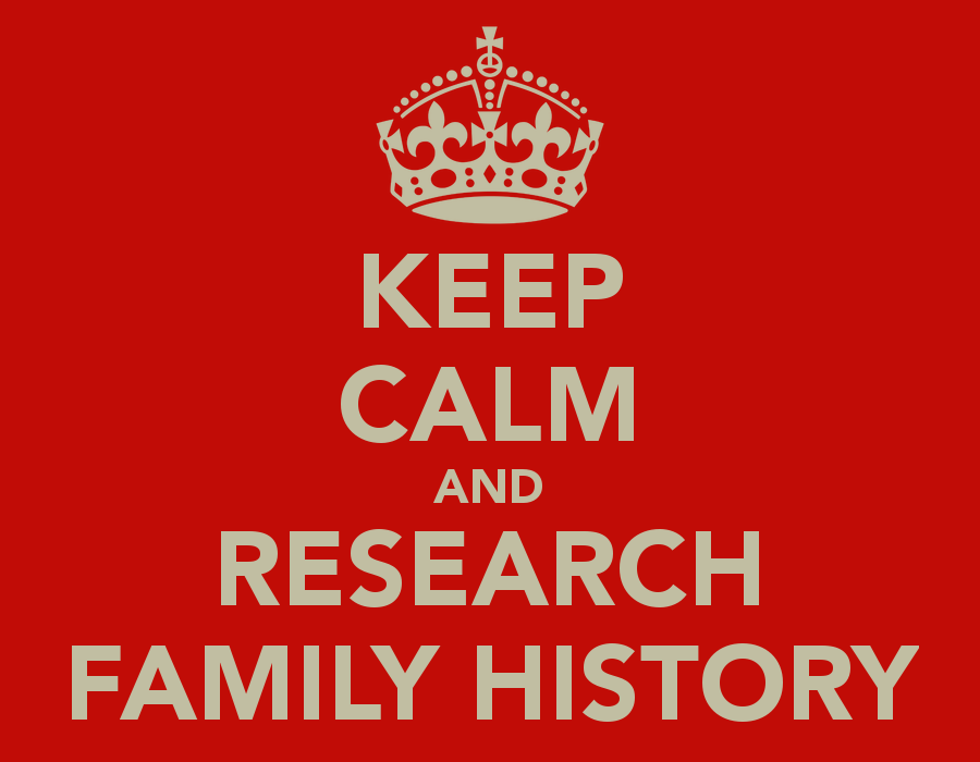 Keep calm and research family history wikitree blog keep calm and research family history publicscrutiny Gallery