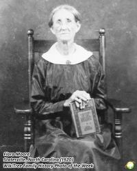 Family History Photo of the Week:  Flora Elizabeth (Gillespie) Moore