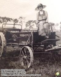 "Family History Photo of the Week (30 June 2017): Mary at the ""Elms"" Farm"