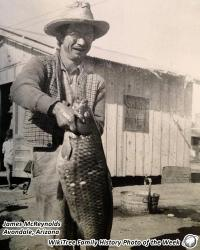 Family History Photo of the Week (23 March 2018): A Man and his Fish