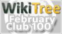 WikiTree Club 100 February