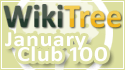 WikiTree Club 100 January