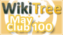WikiTree Club 100 May