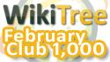 WikiTree Club 1000 February