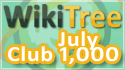 WikiTree Club 1000 July