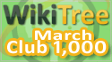 WikiTree Club 1000 March