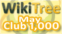WikiTree Club 1000 May