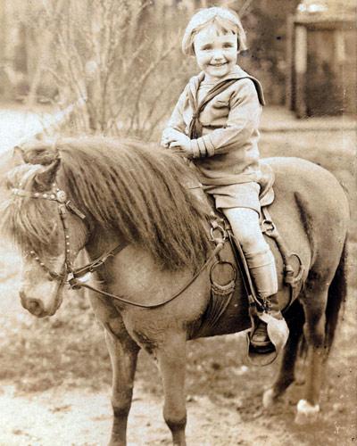 John Hanrahan on Pony 1910