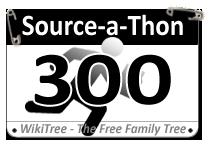 Source-a-Thon Race Bib. Over 300 participants now registered.