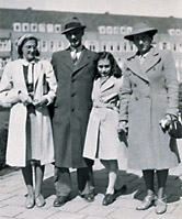 Margot Frank, Otto Frank, Anne Frank and Edith Frank-Holländer