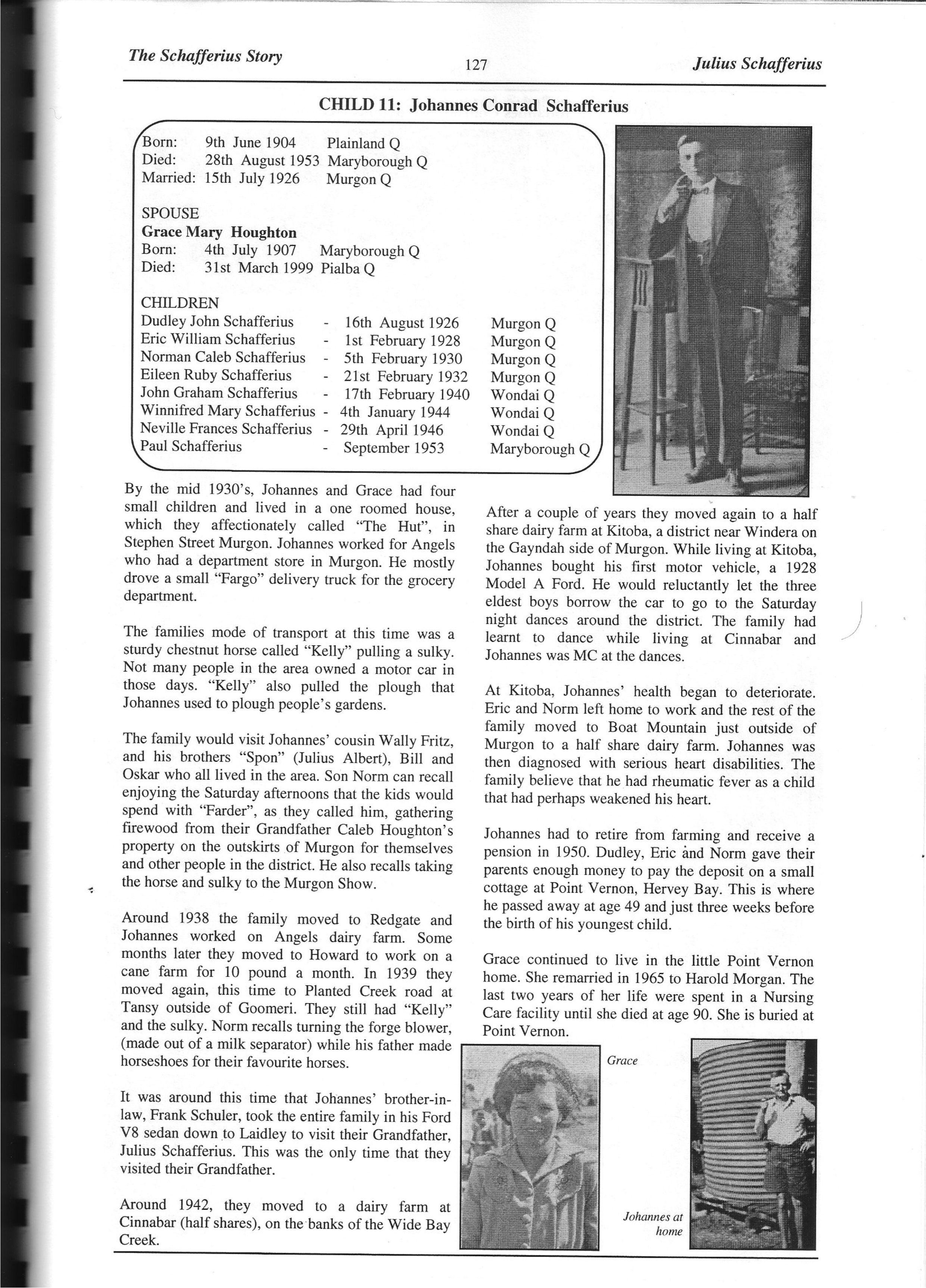 The Schafferius Story p 127Johannes Conrad Schafferius and