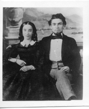 Fannie and Gerson, possibly wedding photo
