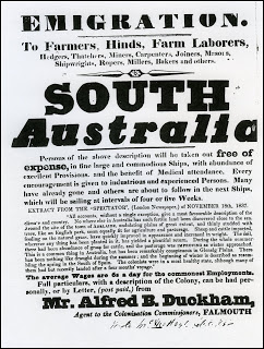 Poster: Emigration to South Australia