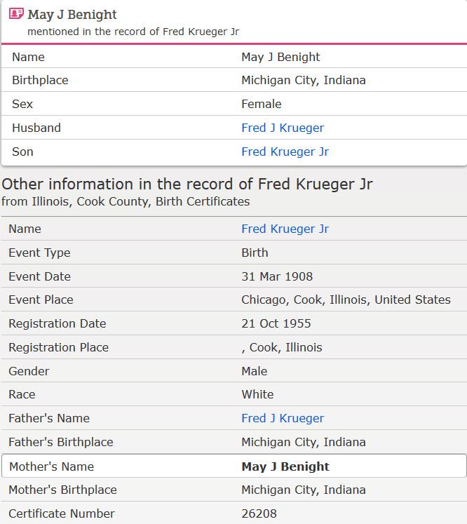 Illinois Cook County Birth Certificates 1871 1940