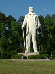Statue of Sam Houston