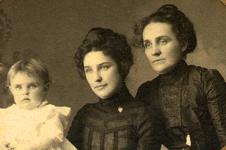 Lucy, Gertrude, and Sarah Breen McGowan