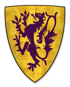 John de Lacy coat of arms