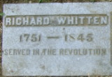 Richard Whitten _ Grave Stone