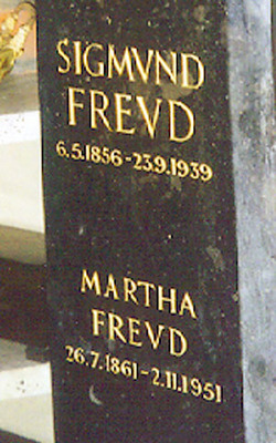 Sigmund Freud Headstone