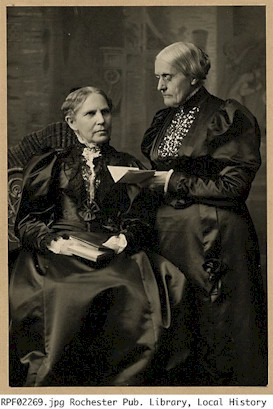 Sisters Susan B. and Mary S. Anthony
