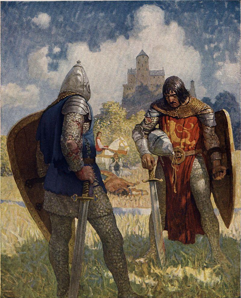 an analysis of the code of honor in sir lancelot Не сейчас месяц бесплатно the tale of sir lancelot.