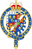 Shield of Henry FitzRoy, duke of Richmond and Somerset