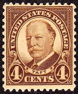 Taft 4-cent Stamp