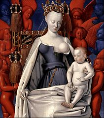 Jean Fouquet: Madonna Surrounded by Seraphim and Cherubim