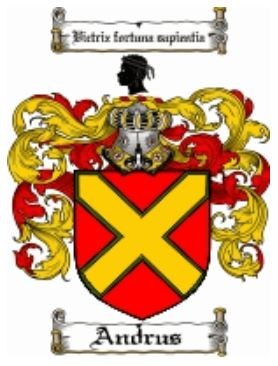 Andrus Family Crest
