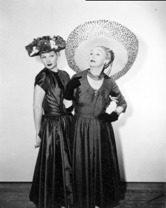 Lucille Ball and Hedda Hopper were long-time friends
