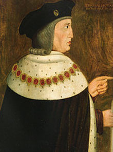 Duke Thomas Howard 2nd Duke of Norfolk