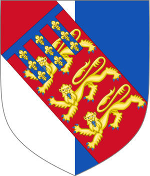 Early arms of John Beaufort