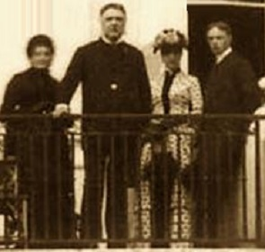 The Chester Alan Arthur Family at the White House