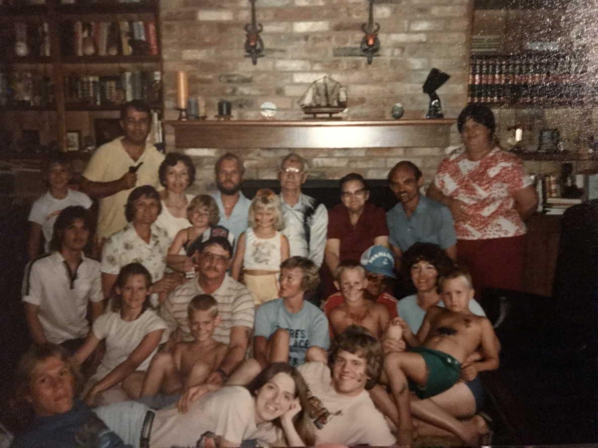 Biggs Family Reunion - 1981