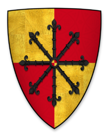 Geoffrey de Mandeville coat of arms