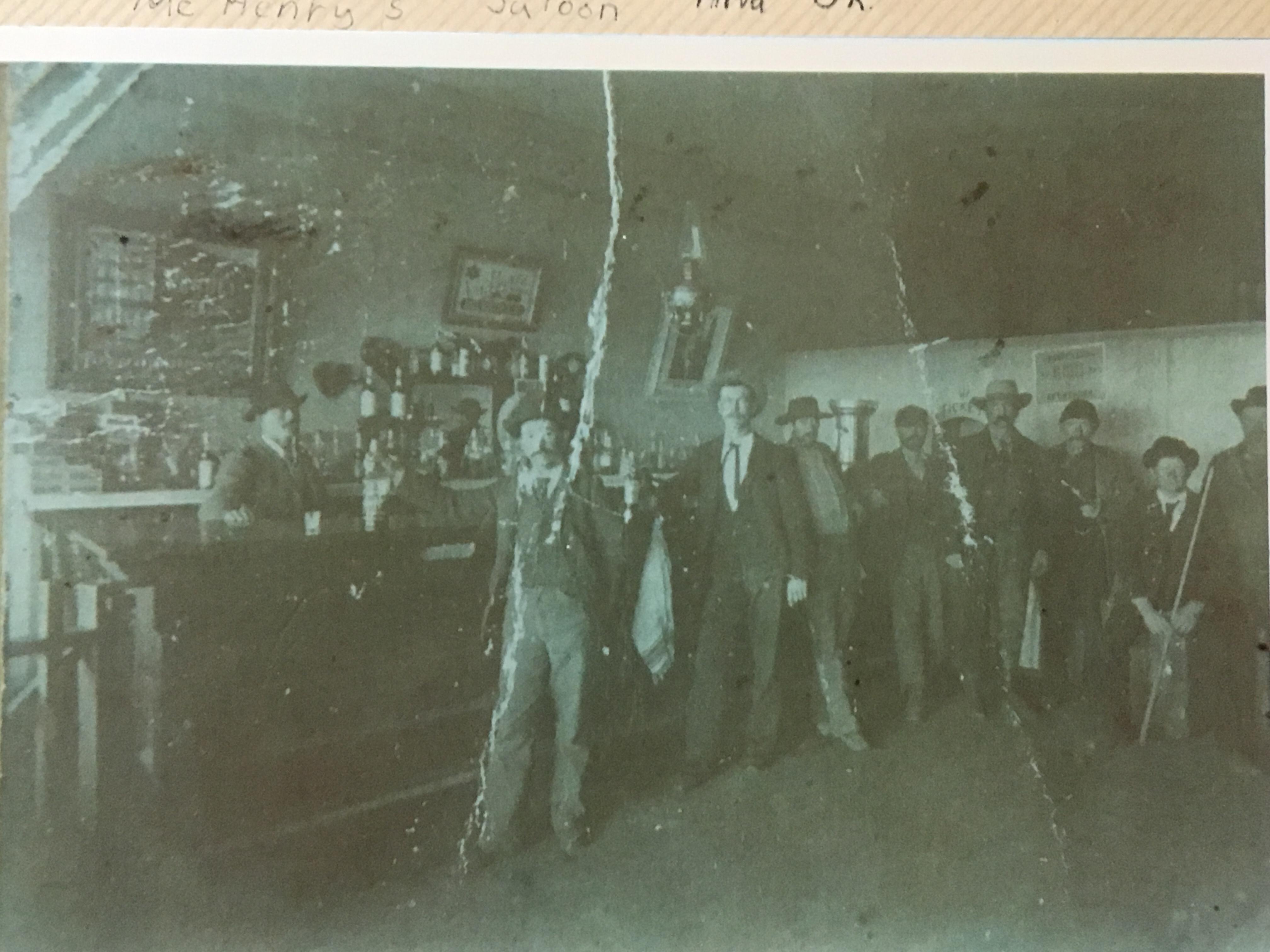 Isaac McHenry's Saloon - Woods County, Okllahoma