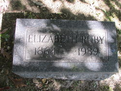 Elizabeth (Spencer) Ruby - Headstone