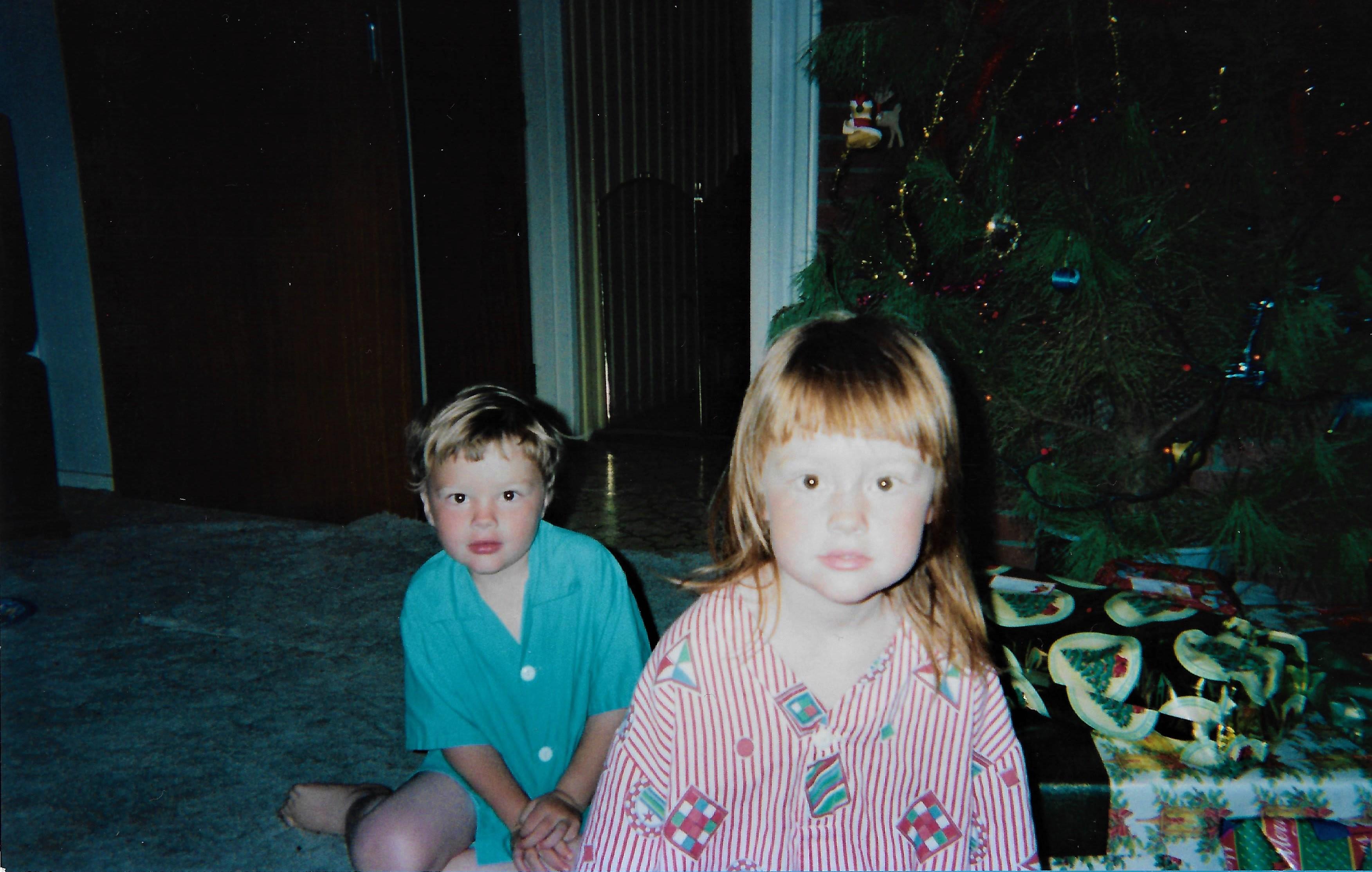Christmas 2002, My Sister and I