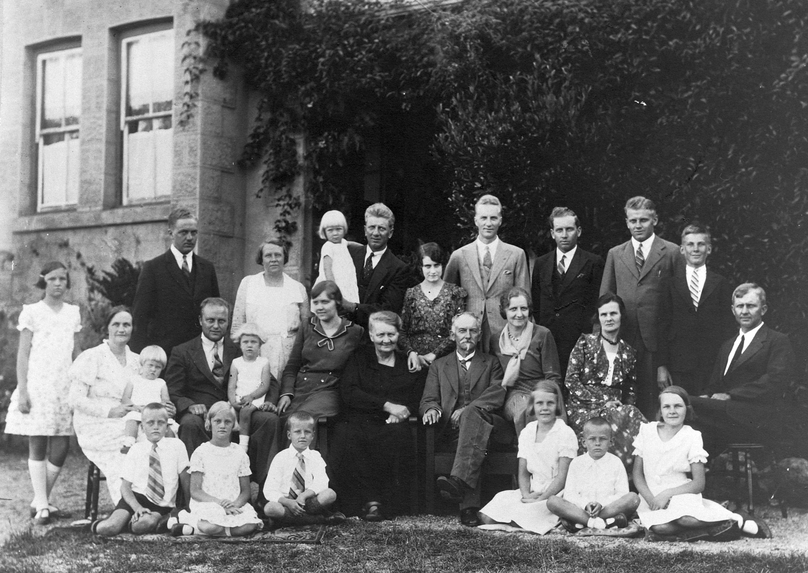 Großfamilie August Heinrich Dietrich Behrens