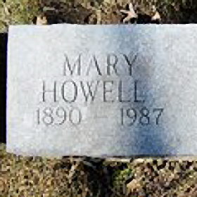 Mary Elizabeth Hall Howell