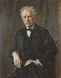Richard Strauss, painting by Max Liebermann